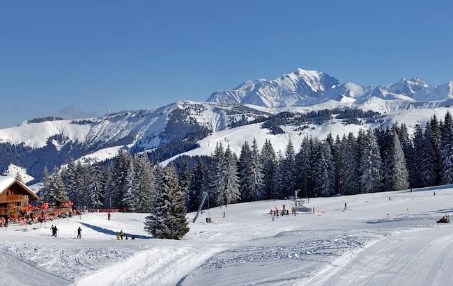 Crest Voland Cohennoz petite station pour ski en famille