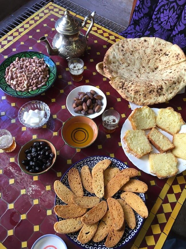 repas marocain restaurant Ouarzazate