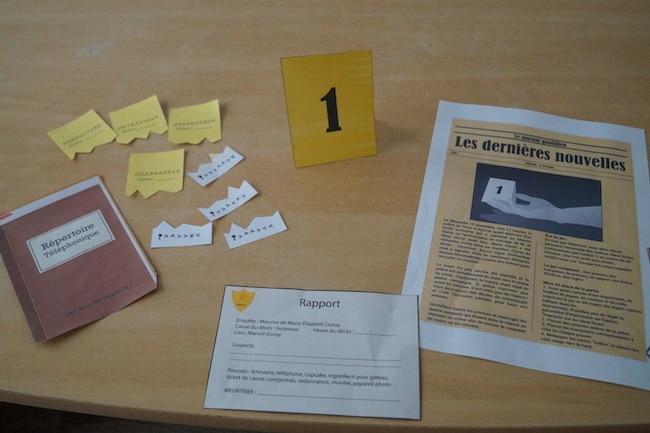 Test escape kit