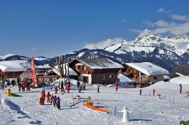 station de Crest Voland pour vacances au ski en famille