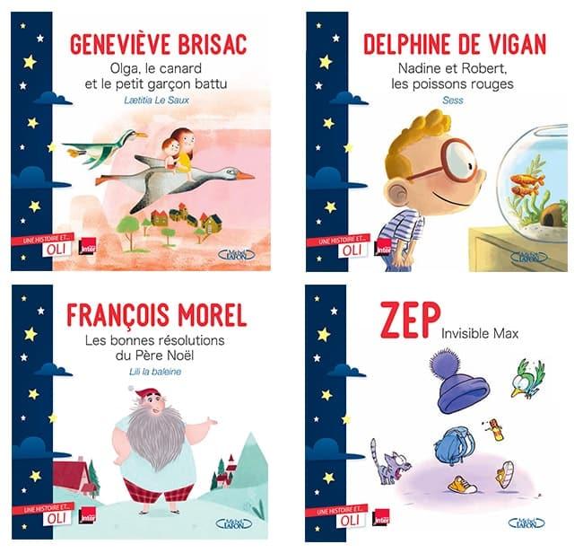 podcast et livres enfant une histoire et oli