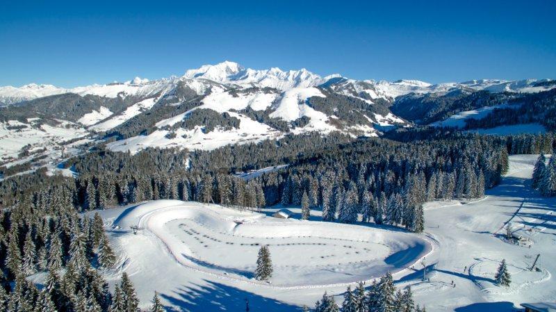 Crest-Voland-Cohennoz, station de ski des Alpes