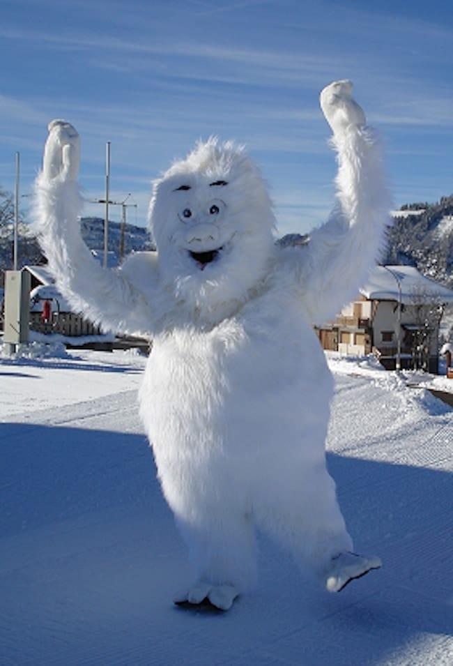 Crest Voland la station de ski 100% famille a sa mascotte Opoual