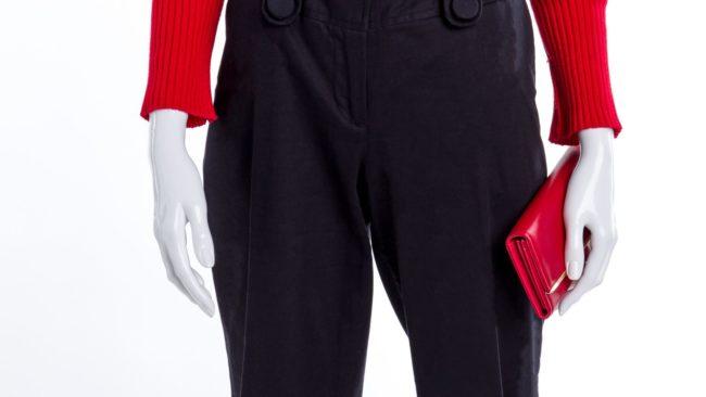 pantalon tailleur femme