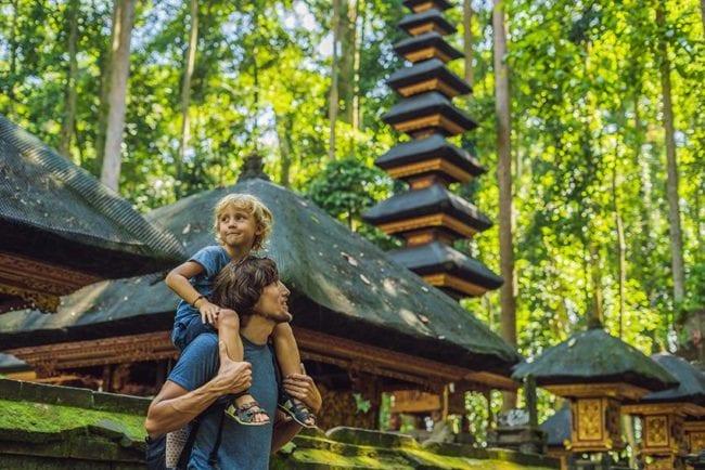 indonésie en famille
