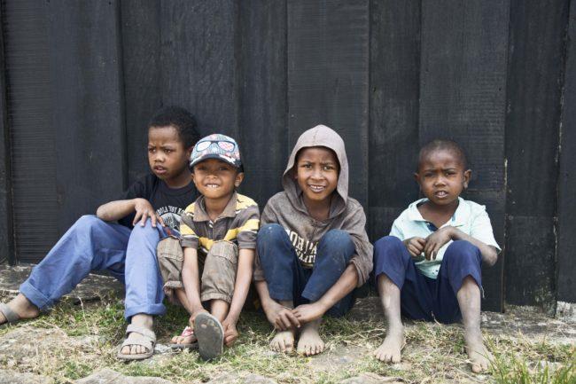 Madagascar avec des enfants