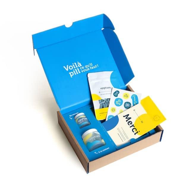 Epycure box compléments alimentaires
