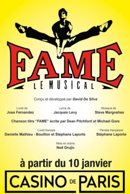 Fame au Casino de Paris