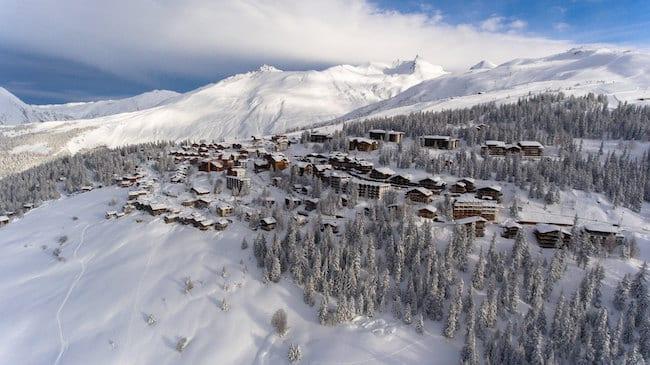 vacances en famille au ski à la Rosière