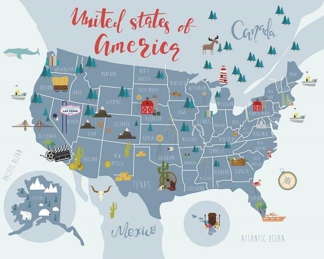 voyager aux Etats-Unis avec des ados