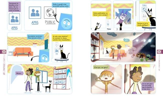 C'est quoi le monde numérique, livre enfant aux éd. Milan