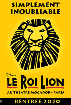 Le Roi Lion spectacle 2020