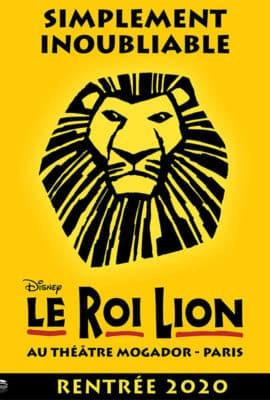 Le Roi Lion spectacle 2020