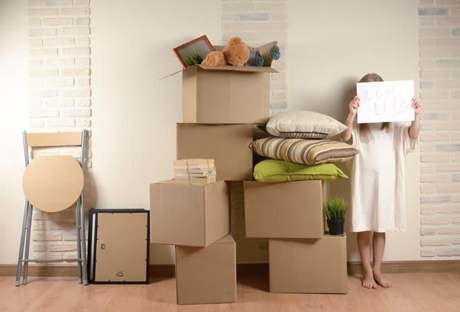box de stockage déménagement
