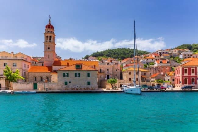 croisière en Croatie en famille ïle de Brac