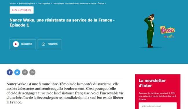 bons plans culturels enfants Les Odysées sur France Inter