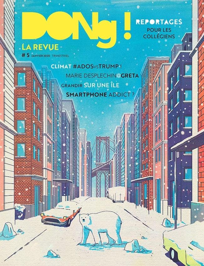 Dong magazine de reportages pour les ados