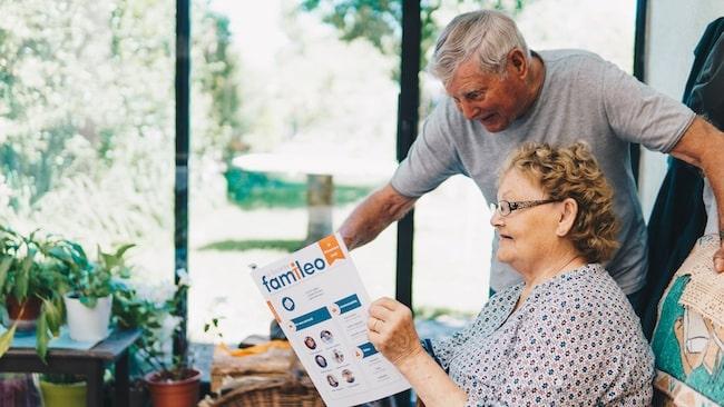 Rester en lien avec les grands parents