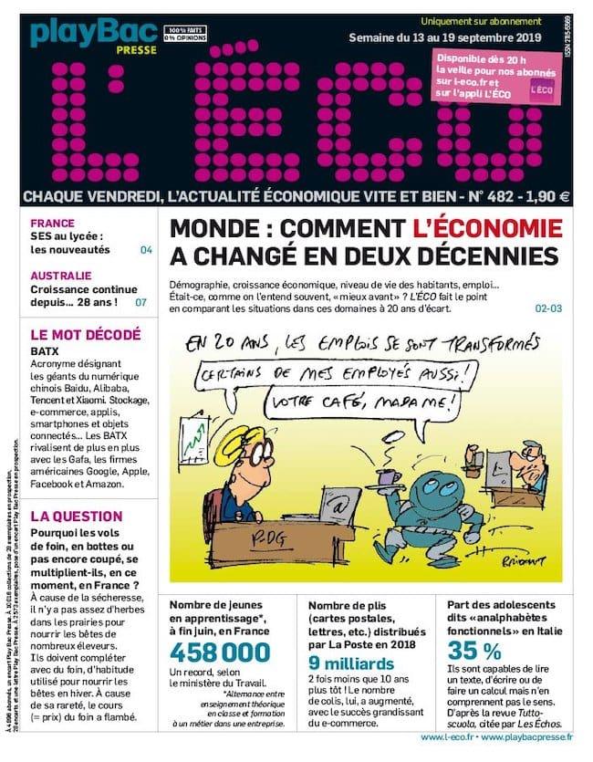 L'Eco magazine éco pour les ados