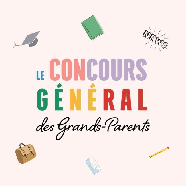 Grand-Mercredi concours général des grands-parents