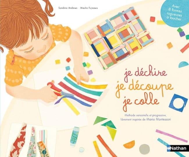 livres d'activités créatives à découper