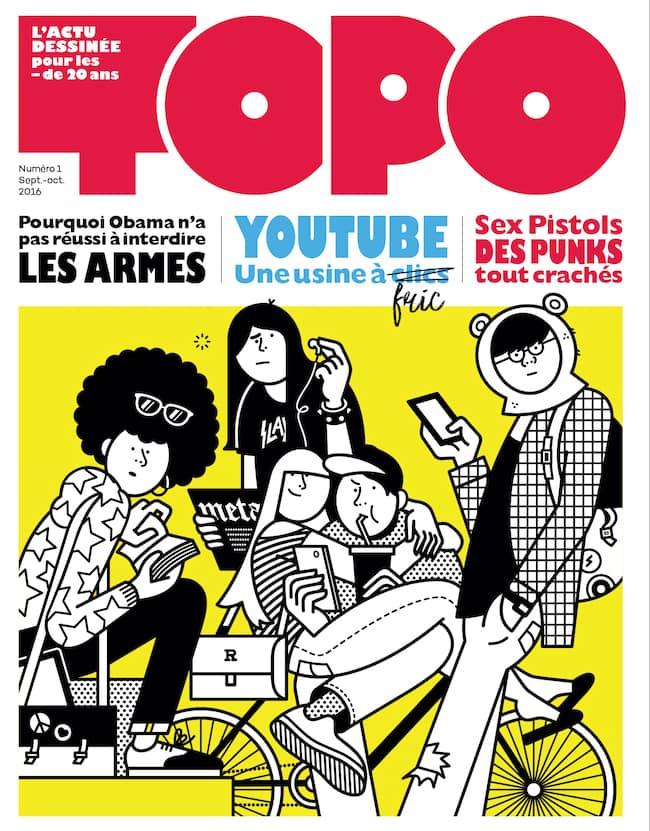 Topo l'actu en BD pour les ados