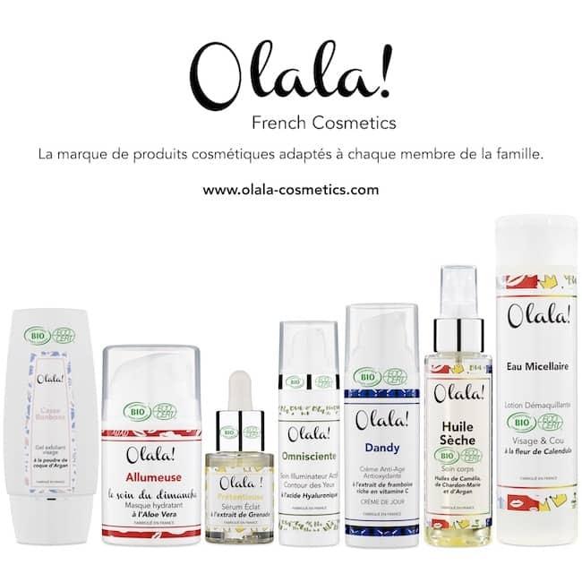 Cosmétiques Bios Olala