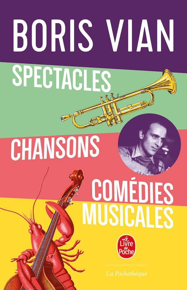 Boris Vian, spectacles en chanson
