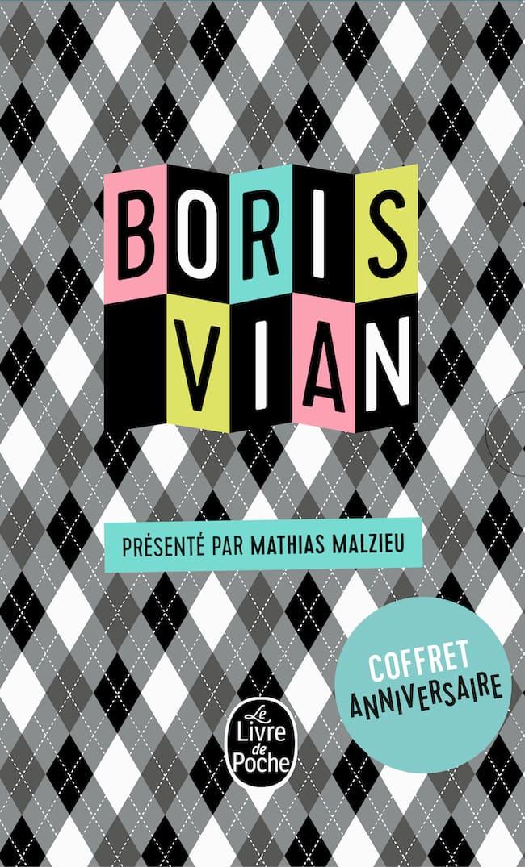 Boris Vian coffret anniversaire