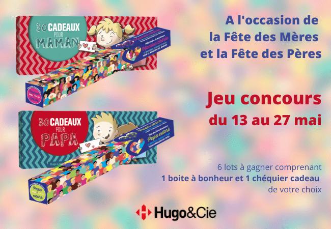 concours fête des mères Hugo&Cie Mafamillezen