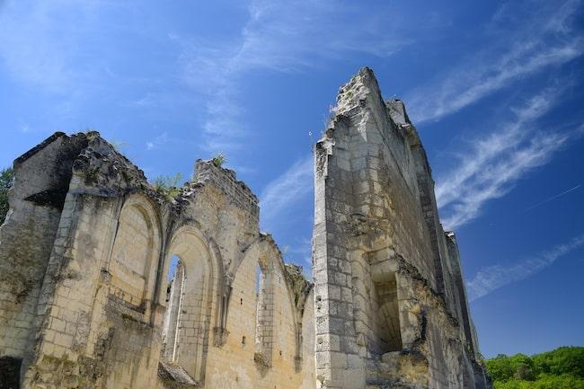 Charteuse du Liget ruines de l'abbatiale