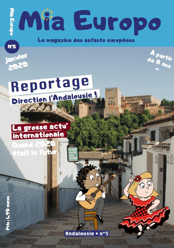 Mia Europo magazine jeunesse spécial Andalousie