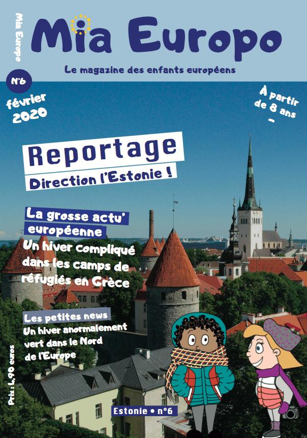 Mia Europo magazine jeunesse spécial Estonie