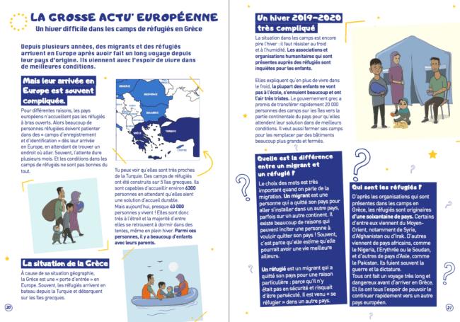 Mia Europo mag d'actu européenne pour les enfants