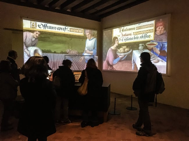 Logis royal du château de Loches animations interactives