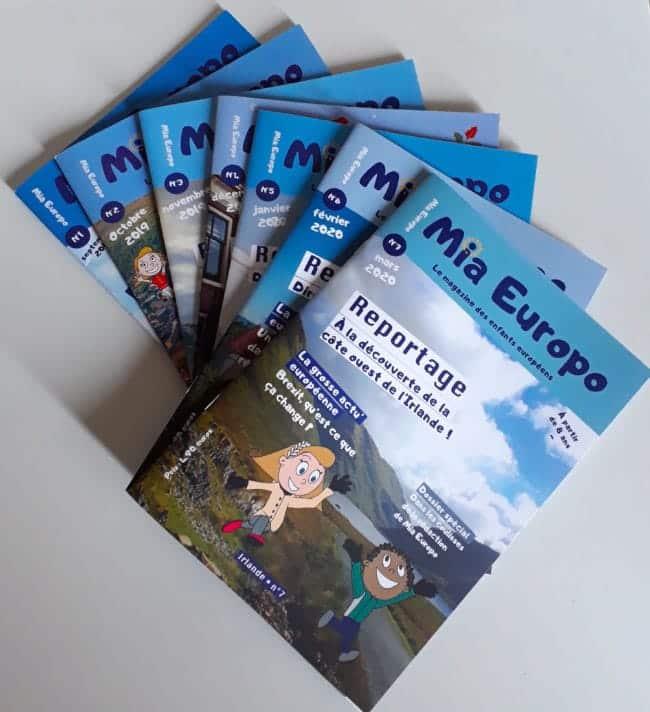 Mia Europo magazine sur l'Europe pour les enfants