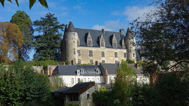 Château de Montrésor vue extérieure