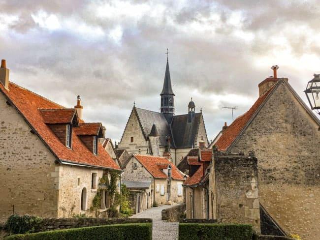 Village de Montrésor en Indre et Loire