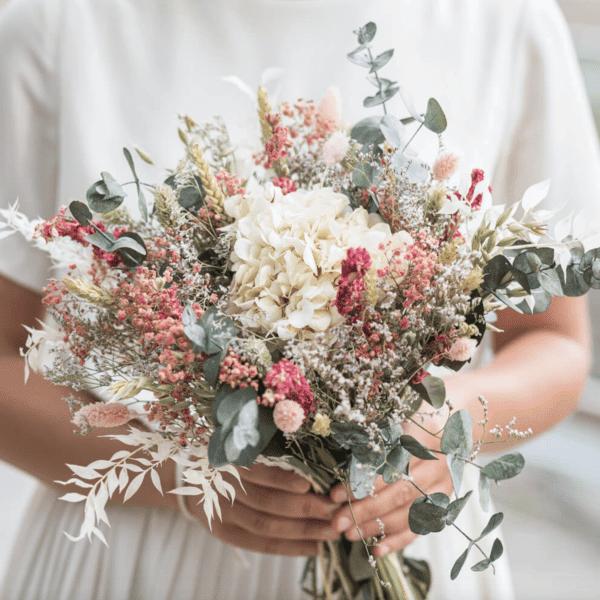 bouquet de fleurs séchées Flowrette