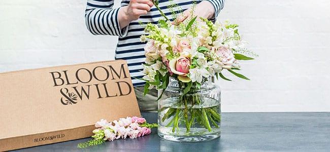 offrir des fleurs avec fleuriste en ligne Bloom & Wild