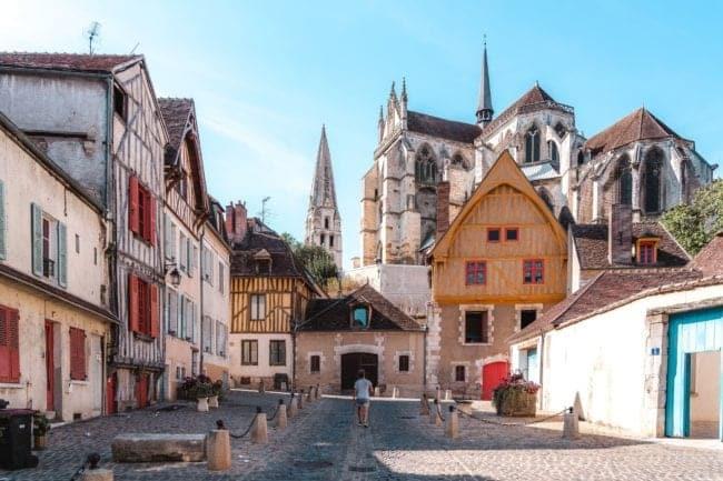 visiter la ville d'Auxerre dans l'Yonne