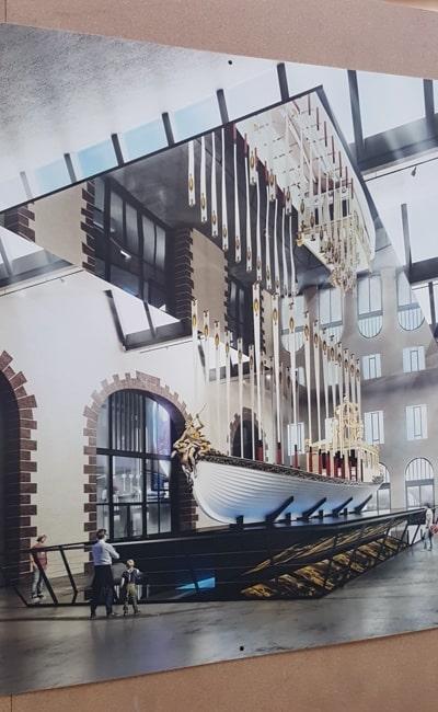 Brest ateliers capucins canot de l empereur