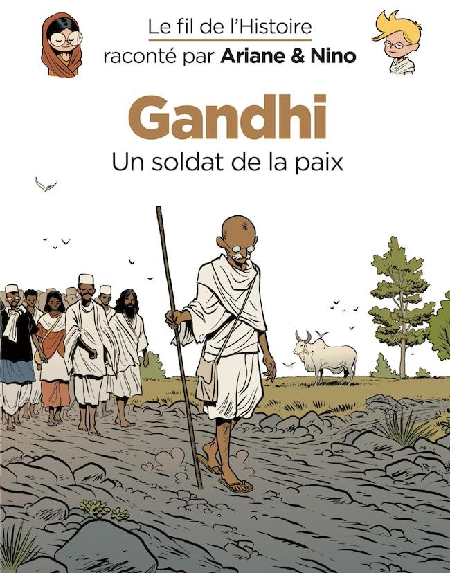 Le fil de l'Histoire, Gandhi (Dupuis)