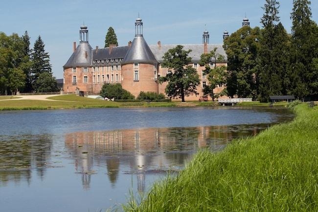 Château de Saint-Fargeau, dans l'Yonne