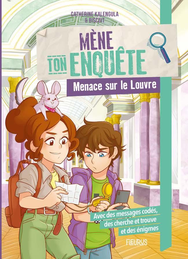 Collection Mène l'enquête (Fleurus), Menace sur le Louvre