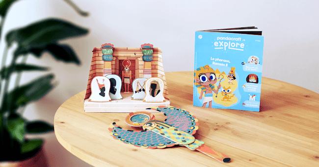 apprendre en s'amusant avec le kit Pandacraft Explore