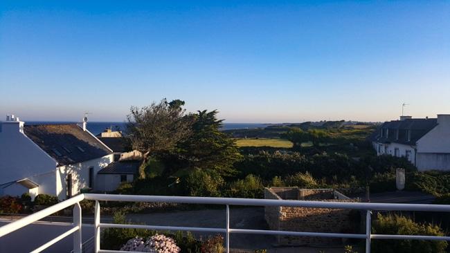 Finistere Hotel pointe sainte Mathieu vue littoral