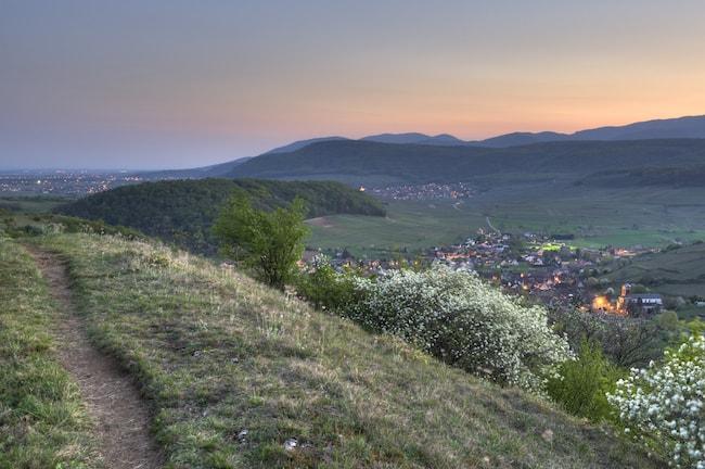 Village de Westhalten, Vosges