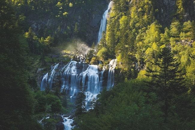 PNR des Pyrénées Ariégeoises, cascade