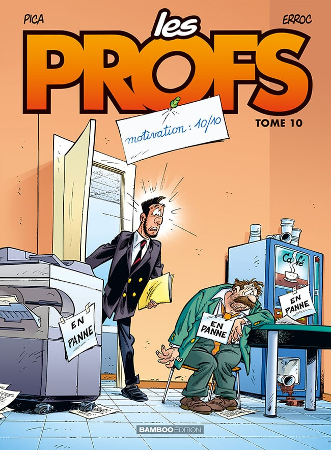 BD Les Profs tome 10